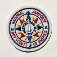 1937 National Jamboree Pocket Patch