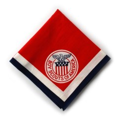 1955 World Jamboree USA Neckerchief