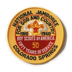 1960 National Jamboree Original Pocket Patch