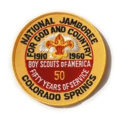1960 National Jamboree Original Pocket Patch
