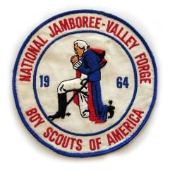 1964 National Jamboree Jacket Patch