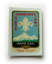 1967 World Jamboree Decal