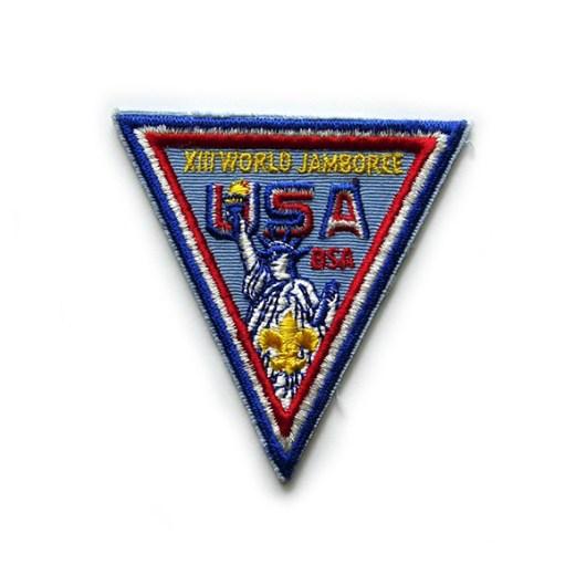 1971 World Jamboree USA Pocket Patch
