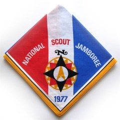 1977 National Jamboree Neckerchief