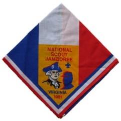 1981 National Jamboree Neckerchief