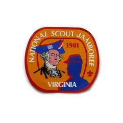 1981 National Jamboree Sticker