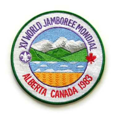 1983 World Jamboree Jacket, Back Patch