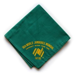 1987-88 World Jamboree Neckerchief