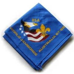 1987-88 World Jamboree USA Neckerchief