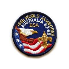 1987 World Jamboree USA Pocket Patch