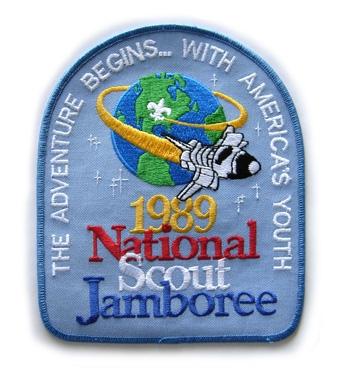 1989 National Jamboree, Back Patch