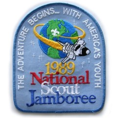1989 National Jamboree, Back Patch