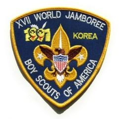 1991 World Jamboree USA Back Patch
