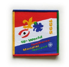 1995 World Jamboree Pocket Patch