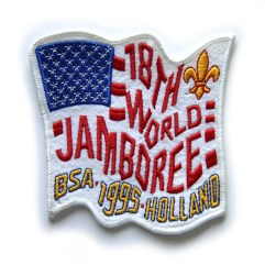 1995 World Jamboree USA Pocket Patch