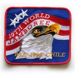 1999 World Jamboree USA Pocket Patch
