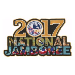 2017 National Jamboree Jacket/Back Patch (Rectangle)