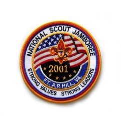 2001 National Jamboree Jacket Patch