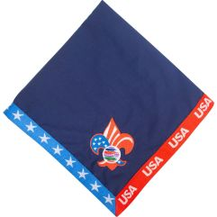 2019 World Jamboree USA Neckerchief