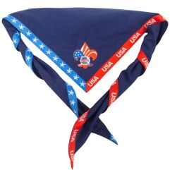2019 World Jamboree USA Contingent Neckerchief