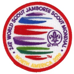 2019 World Jamboree Participant Youth Pocket Patch