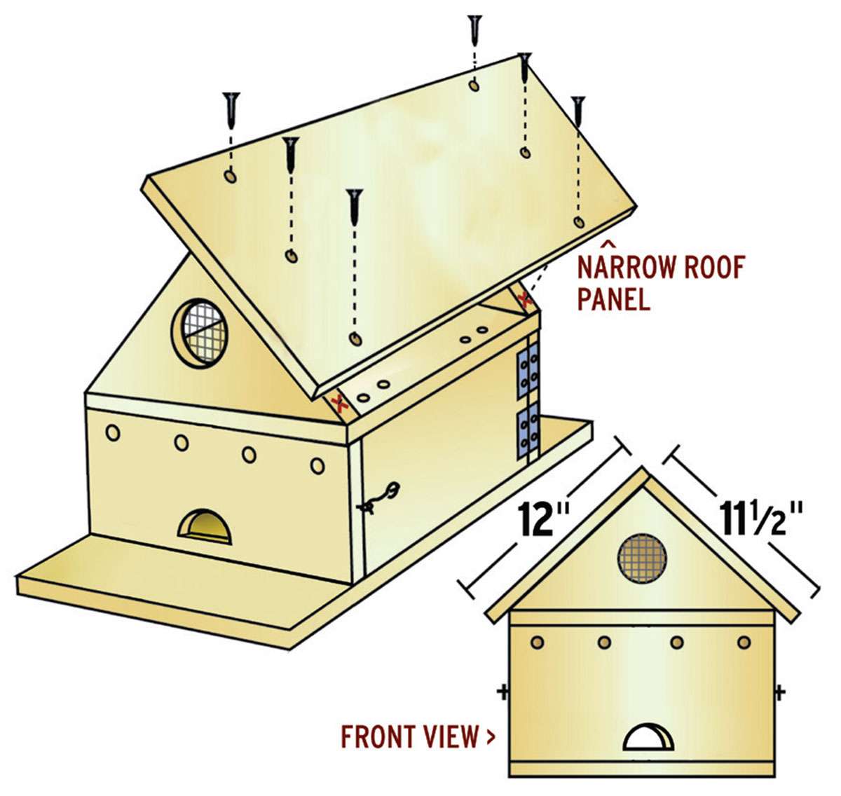 How To Build A Purple Martin House To Attract Bug Eating Birds Boys Life Magazine
