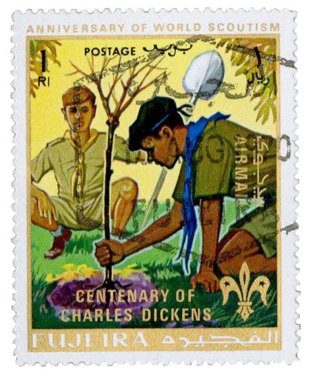 Scouting stamps