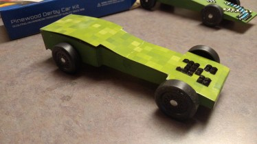 Minecraft Creeper Car