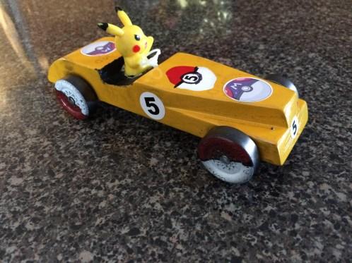 Racing Pikachu