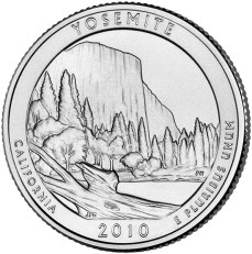 America the Beautiful quarters - Yosemite National Park