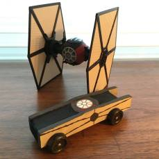 Glenview Pack 7 Tie Fighter