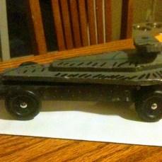 Star Wars pinewood derby car