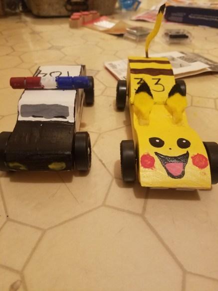 Pikachu/ police car