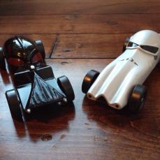 Darth Vader and Stormtrooper