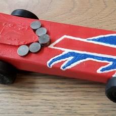 Buffalo Bills Derby Car