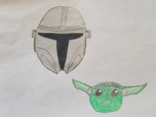 The Mandalorian and Baby Yoda