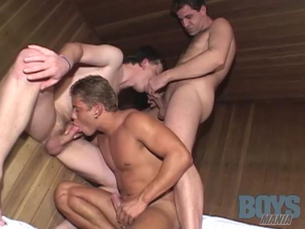 Vdeo porno Pegao na sauna  BoysMania