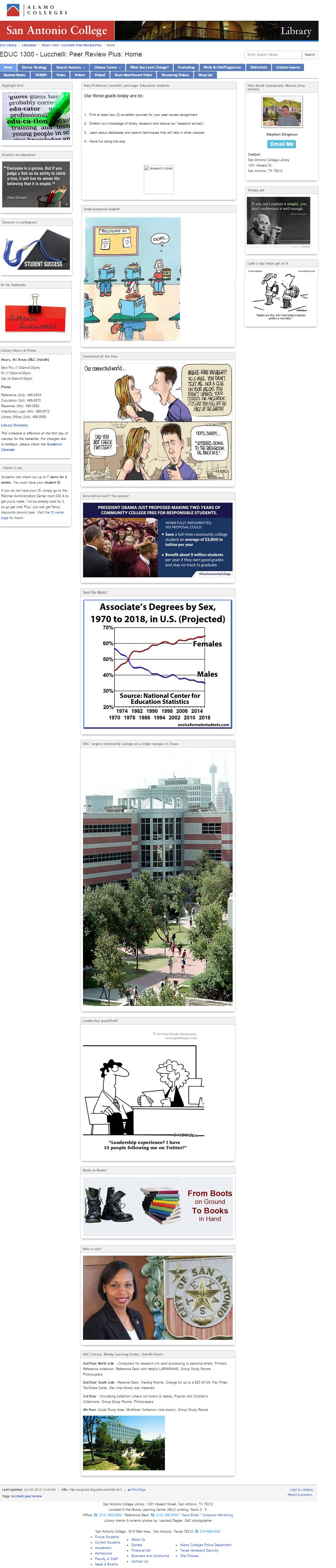 Reference - San Antonio college