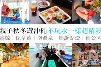 親子秋冬遊沖繩特色活動提案|機票住宿實惠價,不玩水一樣很精彩