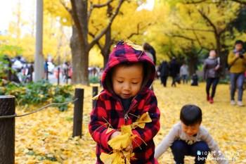 【東京景點】神宮外苑銀杏並木大道|在金黃色世界裡享用來自紐約的Shake Shack大人風味漢堡