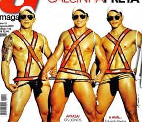 G Magazine Agosto | Dançarinos do Calcinha Preta