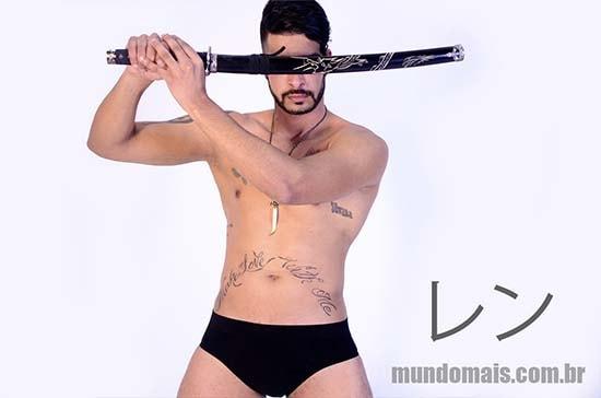 guerreiro ninja pelado ren
