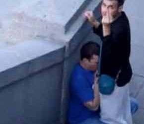 Spy Cam   Chupando o macho no meio da rua - Amador