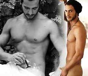 Matheus Lisboa depila o pau e mostra a bunda em ensaio sensual