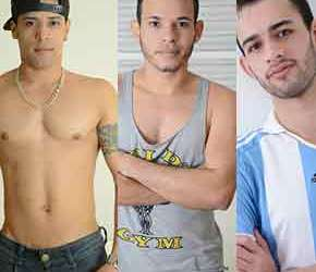 Na Cama com Luciano, Mauricio e Rodrigo
