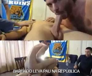 Barbado participa de putaria gay na república