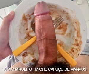 Vitão monster cock torando o cu dos viados de Manaus