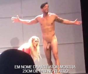 Ator argentino Joaquin Ferreira com 23cm de pau duro