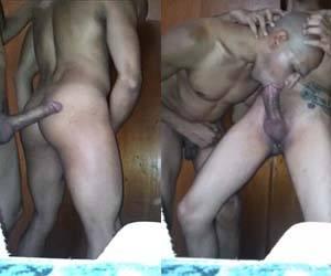 Negão macho pau grosso vira a bunda querendo pica