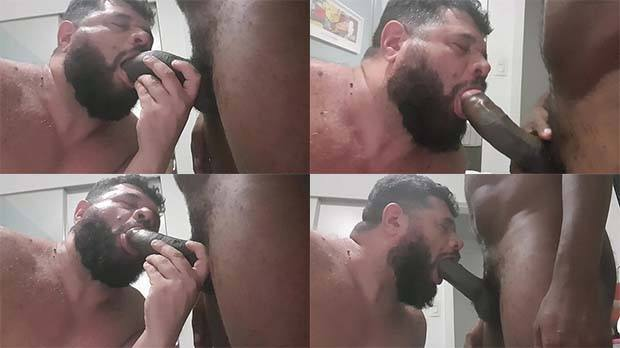 mamando caralho grosso pica preta
